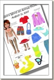 2007 - ACCESSORIES - LEEANN - PICNIC PAPER DOLLS