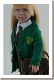 2015 - DRESSED DOLLS - LEEANN - A NEW SCHOOL