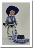 2015 - DRESSED DOLLS - LEEANN - SECOND RODEO