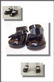 2007 - SHOES - LEEANN - BLACK MARY-JANES