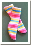 2007 - OUTFITS - LEEANN - STRIPED SOCKS